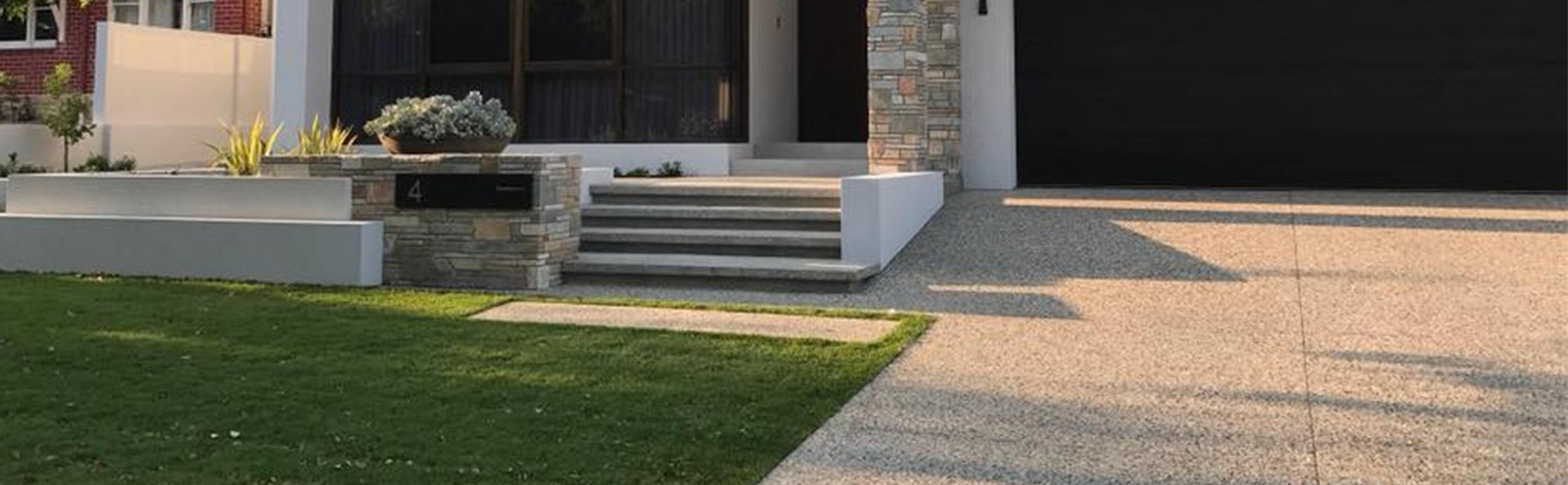 honed concrete cover