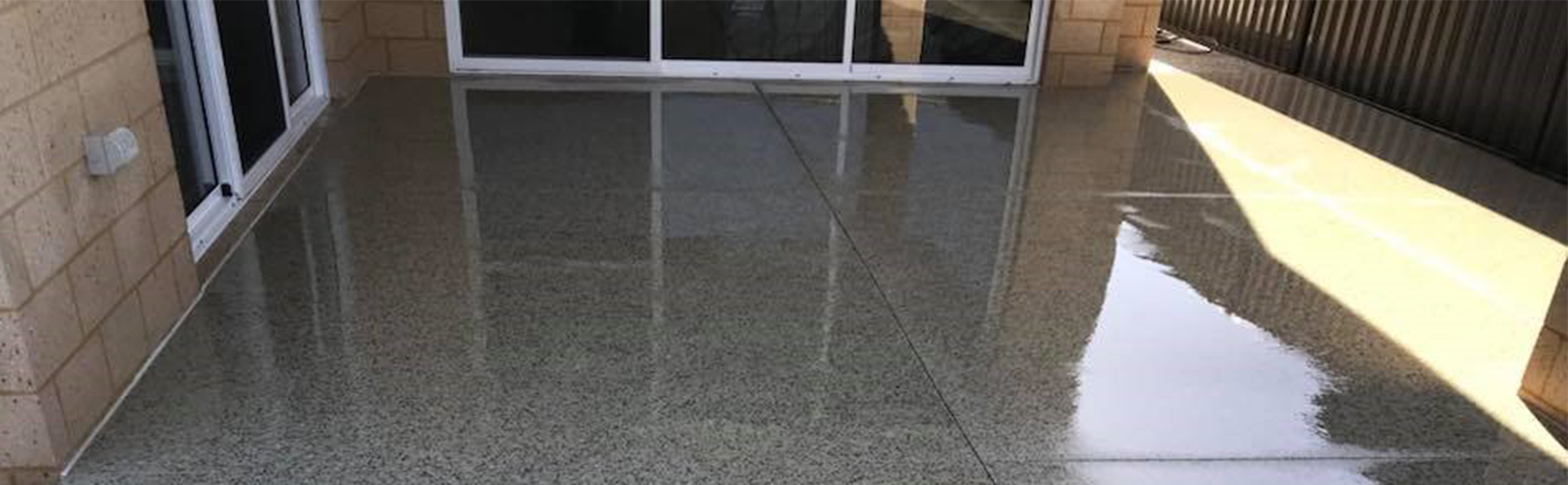 polished concrete cover